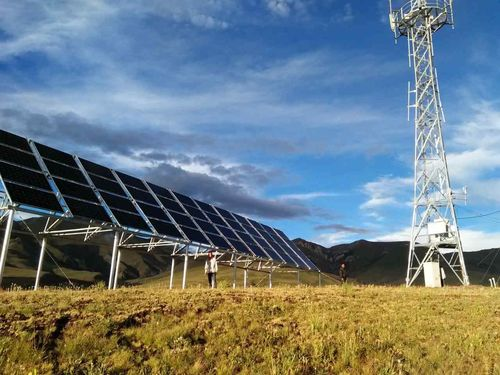 China últimas noticias sobre torre solar de Applicated China del sistema eléctrico de las telecomunicaciones 48VDC